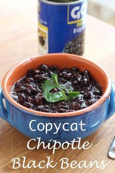 Chipotle Black Bean Recipe - new video to show you how easy this is!