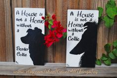 Handpainted decorative sign, custom painted for Breed, Species and color,  by Count All Things Joy