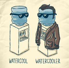 No wonder everyone always chills by the water cooler.