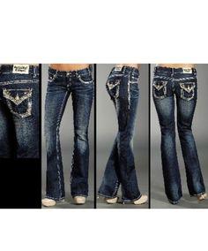 Rock n roll cowgirl skinny jeans