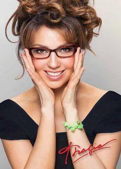 Thalia ( Lady Lady T) Eyeglasses and Eyewear by Kenmark Optical Cute Glasses, New Glasses, Girls With Glasses, Ladies Glasses, Thalia, Best Eyeglasses, Womens Glasses Frames, Fashion Eye Glasses, Wearing Glasses