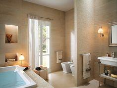 Badezimmer design fliesen hell  360°: Englisches Landhaus | Landhausstil, Badezimmer und Designs