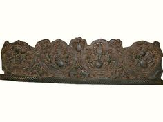 Lord Ganesh Panel, Five Forms of Sitting Ganesha Carved Headboards Wall Panels India Inspired Decor by Mogul interior, http://www.amazon.com/dp/B00BNQ3D9U/ref=cm_sw_r_pi_dp_xyQmrb1H5XVBM