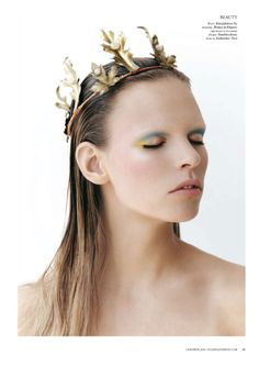 leafy crown