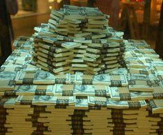 O dinheiro gosta de mim e eu gosto dele!