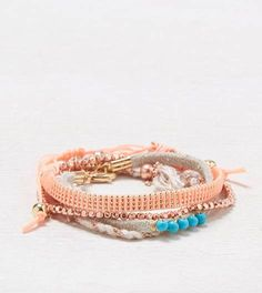 Multi AEO Rose Gold Bracelet Set