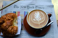 Coffee and the City – The search for real coffee in New York. Check out this compilation if you're heading to the Big Apple & love your coffee New York Coffee, Real Coffee, The Search, Latte, Recipes, Coffee Milk, Latte Macchiato