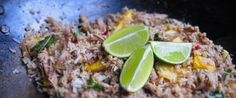 With a de-breasted duck carcass in my possession I there together this Fried Rice with Duck, Pineapple & Mint Recipe. Mint Recipes, Asian Recipes, Barley Grain, My Favorite Food, Favorite Recipes, Pineapple Mint, Non Perishable, Tinned Tomatoes, Couscous