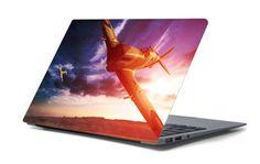 Naklejka na laptopa - Samolot 4666