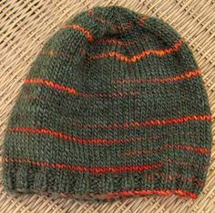 Cheeky Charlie's Hat for Guys — NobleKnits Knitting Blog free pattern