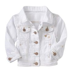 Old Navy Denim Jackets for Baby (85 BRL) ❤ liked on Polyvore featuring baby, baby girl, kids, baby clothes and baby stuff