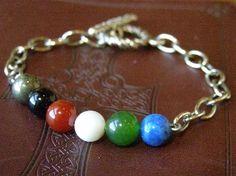 fancy wordless bracelet