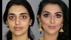 New wedding makeup indian bollywood Ideas Indian Skin Makeup, Indian Makeup Artist, Asian Bridal Makeup, Asian Makeup, Star Wars Baby, Makeup Tricks, Mona Sangha, Pretty In Pink, Make Up
