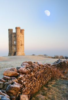 Broadway Tower | England (by Rob McColl) Mackenzie Carson:  this tower was the starting point of the infamous hike through the fields where you showed Daddy the way!