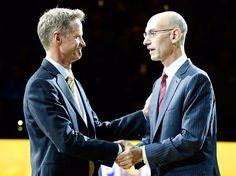 Steve Kerr and Adam Silver both wanted the Warriors to go to the White House for a specific reason  but now it doesn't seem possible