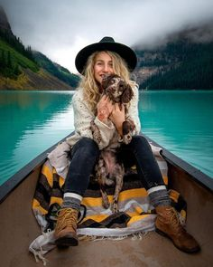 One of the best summer activities is to hop on a canoe at Lake Louise. And it's even better if you have your best friend in tow! Your Best Friend, Best Friends, Summer Activities, Canoe, Take That, Hipster, Style, Beat Friends, Swag