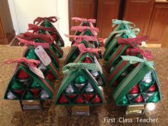 First Class Teacher: Hershey Kisses Christmas Tree Gifts