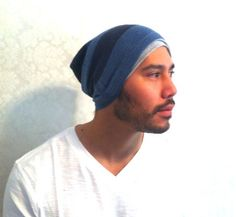 Slouch Mens Beanie Hat Men Clothes  Christmas Gift  by MissTopKnot, $18.00