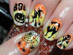 DIY Halloween Nails : DIY Halloween Nails