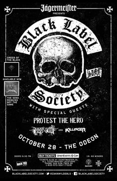 BLACK LABEL SOCIETY                                                                                                                                                     Mais
