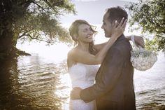 Federica e Rossano One Shoulder Wedding Dress, Couples, Couple Photos, Wedding Dresses, Fashion, Couple Shots, Bride Dresses, Moda, Bridal Gowns