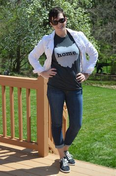 What I Wore Real Mom Style: Ohio Proud Home T.