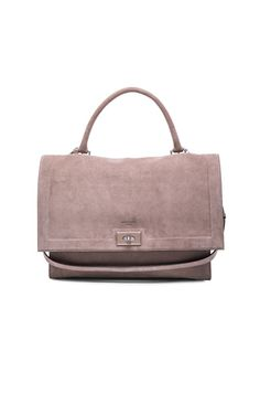 Givenchy - Medium Suede Shark Bag - Sand - 2690  Brown Suede be7c20e4ea6b6