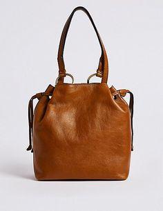c9ed152778e Leather Ring Shoulder Bag