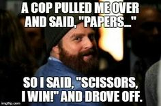 If only it worked that way! Funny Picture Quotes, Funny Photos, Movie Quotes, Zach Galifianakis, Thing 1, Funny As Hell, Top Funny, Funny Memes, Humor