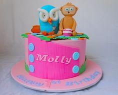 Girl's Hoot and Yo Jojo Cake by My Cake Place http://www.mycakeplace.com.au/