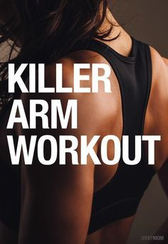 Get your arms in shape for summer with this awesome upper body workout.