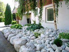 Galleri - Velholdt Park og Hage AS Stepping Stones, Garden, Outdoor Decor, Plants, Home Decor, Patio, Stair Risers, Garten, Decoration Home