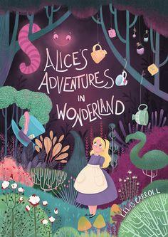 """wonderlandiann: """"Alice's adventures in Wonderland colour concept by Natalie Smillie """""""