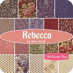 Rebecca Fat Quarter Bundle Mary Koval for Windham Fabrics    LOVE IT