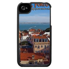 Lisbon - Boat on the Tejo iPhone 4 Covers