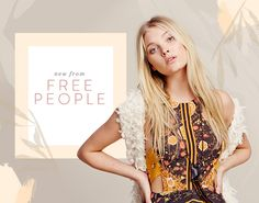New from Free People for summer and beyond.