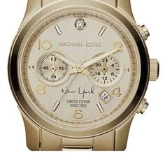 Michael Kors Watch LIMITED EDITION Runway New York Click to find out more -  http://menswomenswatches.com/michael-kors-watch-limited-edition-runway-new-york/