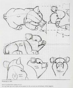#115 Carving Porker - Wood Carving Patterns - Wood Carving Patterns and Techniques