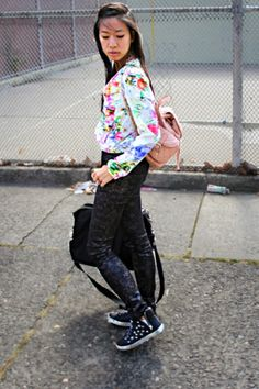 h&m jacket; Print Pants, H&m Jackets, Snake Skin, Asos, Backpack, Outfits, Style, Fashion, Swag