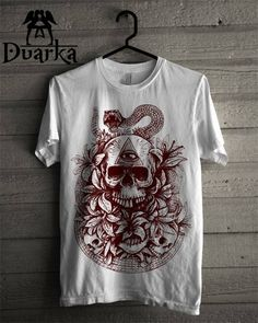 Skull Lyli Serigraphy SIZE : S \ M \ L \ XL COLORS: WITHE , BLACK , GREEN