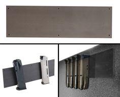 Ultimate Arms Gear Saiga 12/20 Gauge Shotgun Rifle Quick Access Concealed Safe Metal Mag Magazine Magnet Mount Holder ** You can get more details here : Magazine Holders