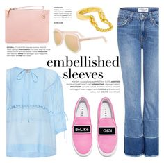 """""""Make a Statement: Embellished Sleeves"""" by ifchic ❤ liked on Polyvore featuring N°21, Grey Ant, Joshua's, Karen Walker, Giles & Brother, contestentry, ifchic and embellishedsleeves"""
