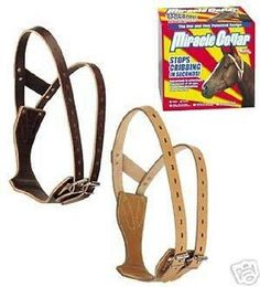 Other Stable Accessories 139590: Weaver Leather Miracle Cribbing Collar Horse Large BUY IT NOW ONLY: $46.99