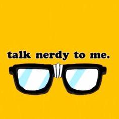 Nerdy glasses :)