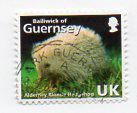 Guernsey 2007 Alderney Blonde Hedgehog used UK rate stamp off paper Listing in the Jersey,Regional Issues,Great Britain,Stamps Category on eBid United Kingdom