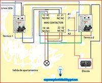 Encendido Alternado De Dos Apartamentos Apartamentos Electricidad Y Electronica Electricidad