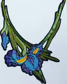 Bead Embroidery Jewelry, Fabric Jewelry, Beaded Embroidery, Jewelry Art, Beaded Brooch, Beaded Choker, Beaded Jewelry, Loom Beading, Beading Patterns