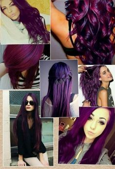 ooooo purple hair! How I have been loving my color. This inspires me to make it a little brighter next time around.