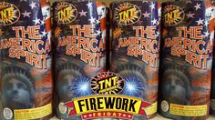 It's Firework Friday!  Start the weekend right, with TNT Fireworks. #FireworkFriday #TNTFireworks #Fireworks #TheAmericanSpirit