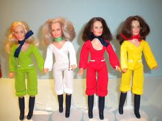 Charlie's Angels dolls - Hasbro 1970's by mad-about- fleur, via Flickr